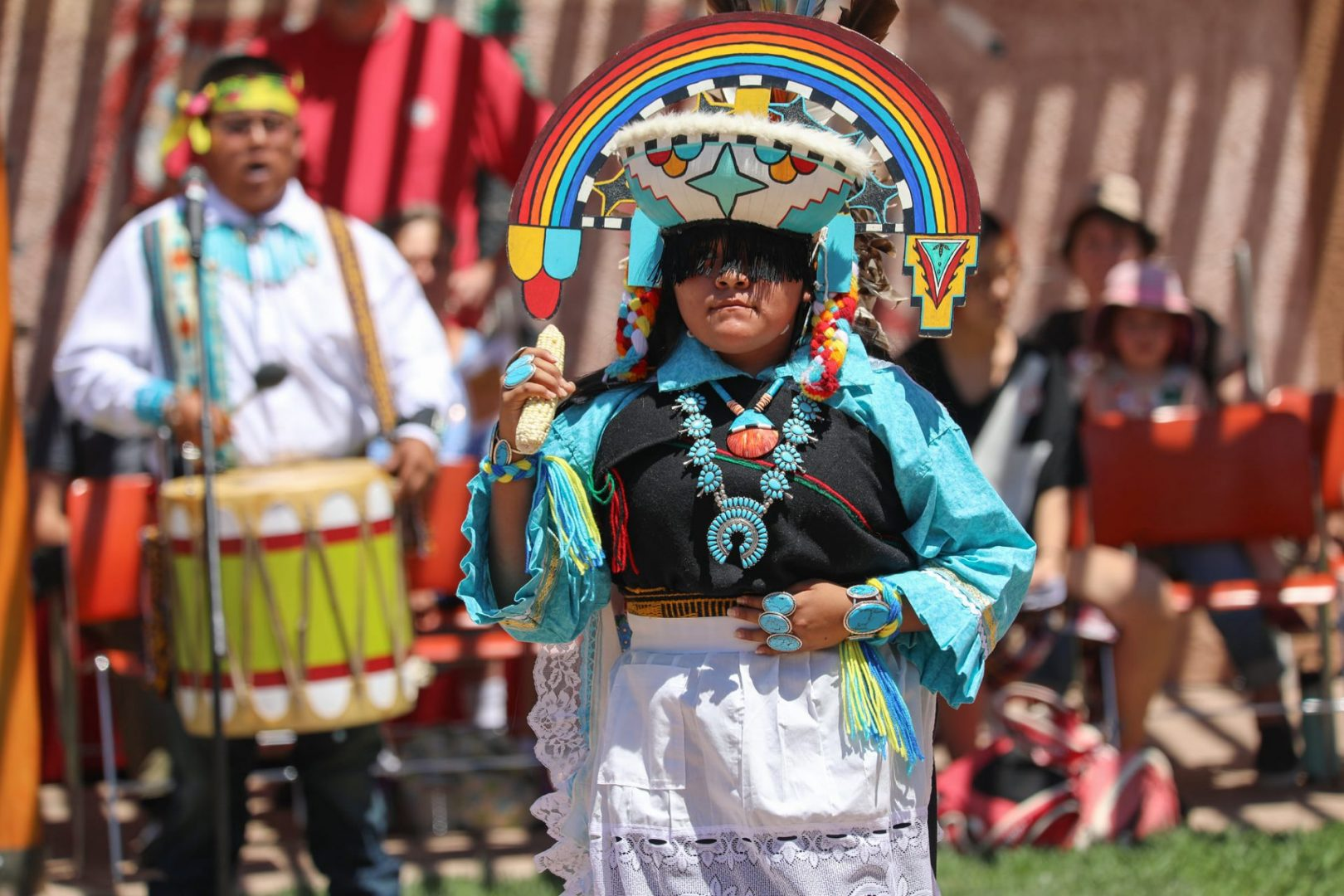 Cultural Dances: Dowa:Kwe Dance Group (Zuni Pueblo)