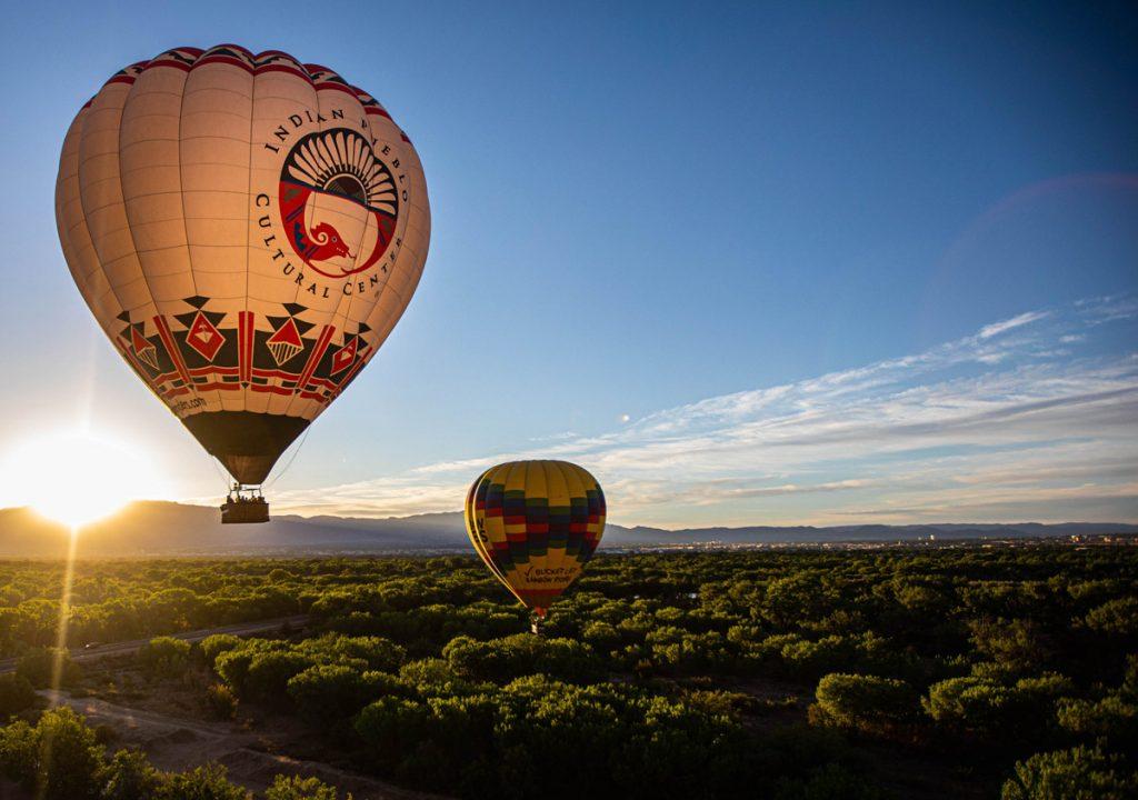 Eyahne On The Horizon Indian Pueblo Cultural Center hot air balloon