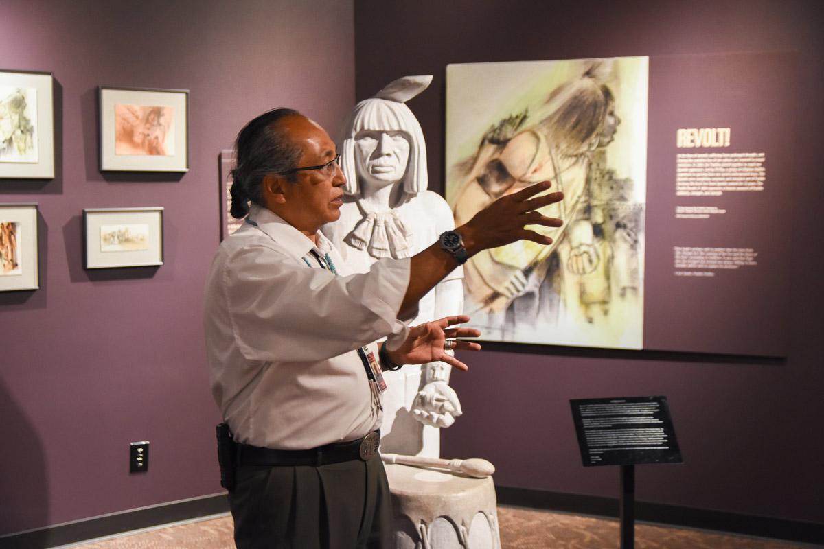 Tours at the Indian Pueblo Cultural Center