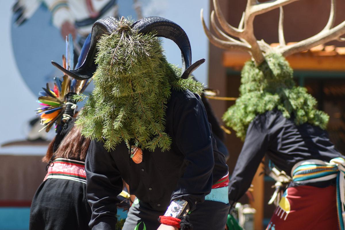 Sky City Buffalo Ram Dancers