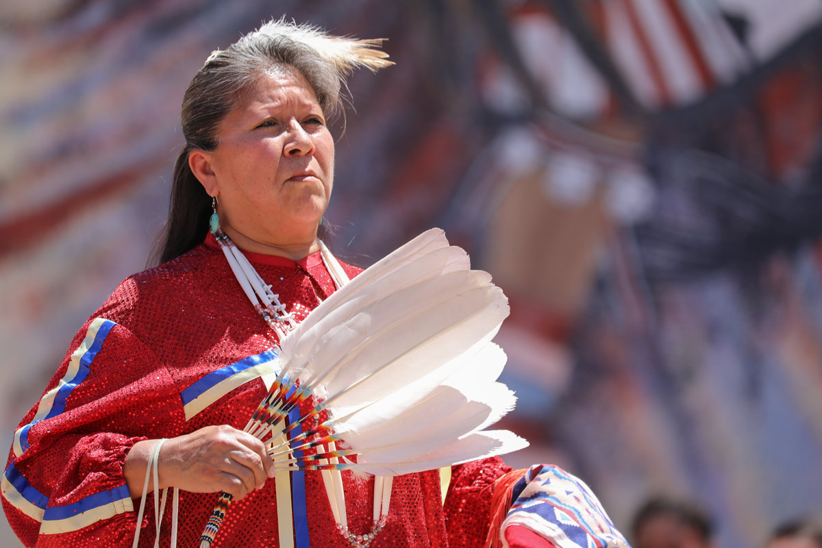 Southern Slam Dance group from Zia Pueblo