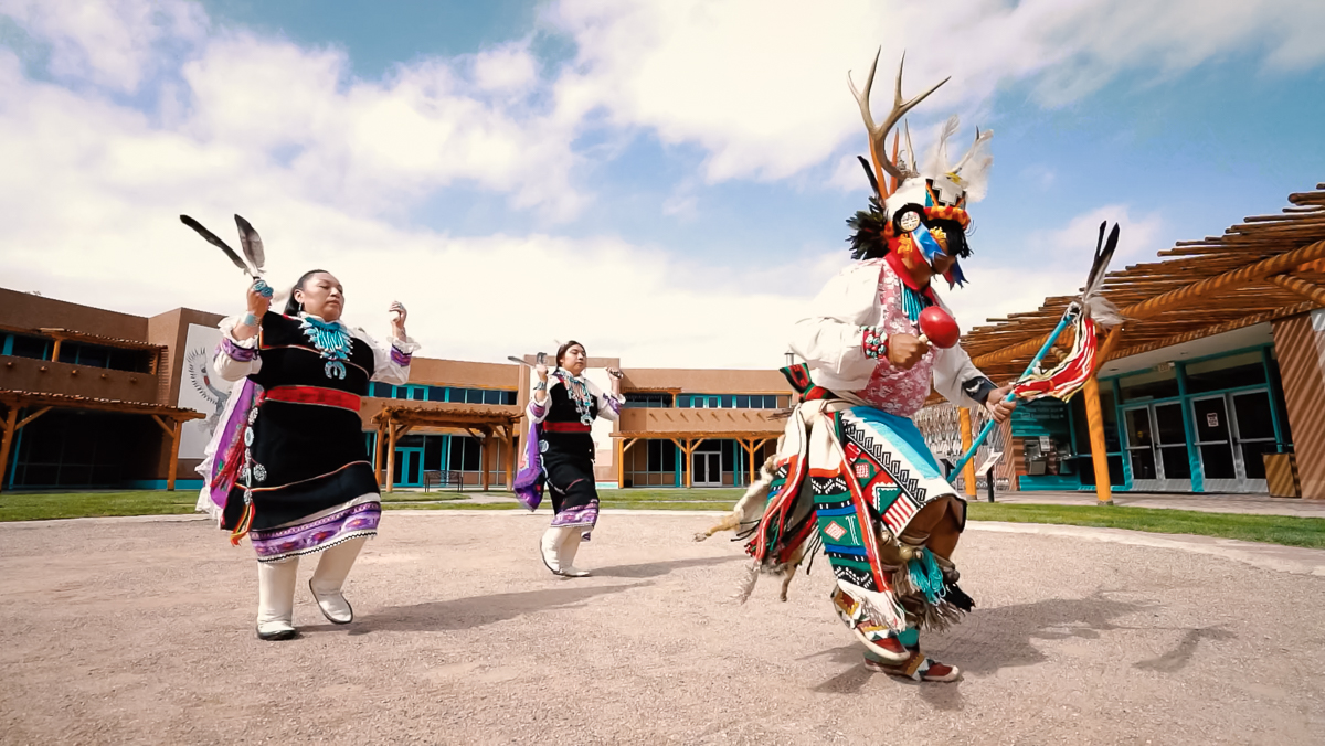 Celicillon Traditional Dancers from Zuni