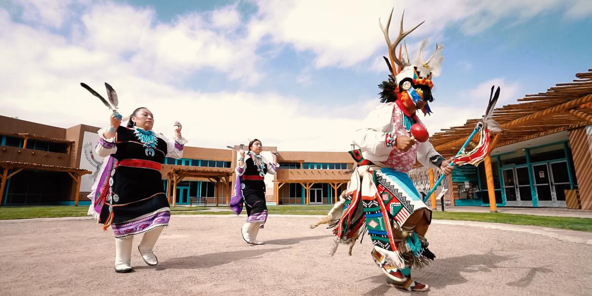 Cellicion Traditional Dancers (Zuni Pueblo)