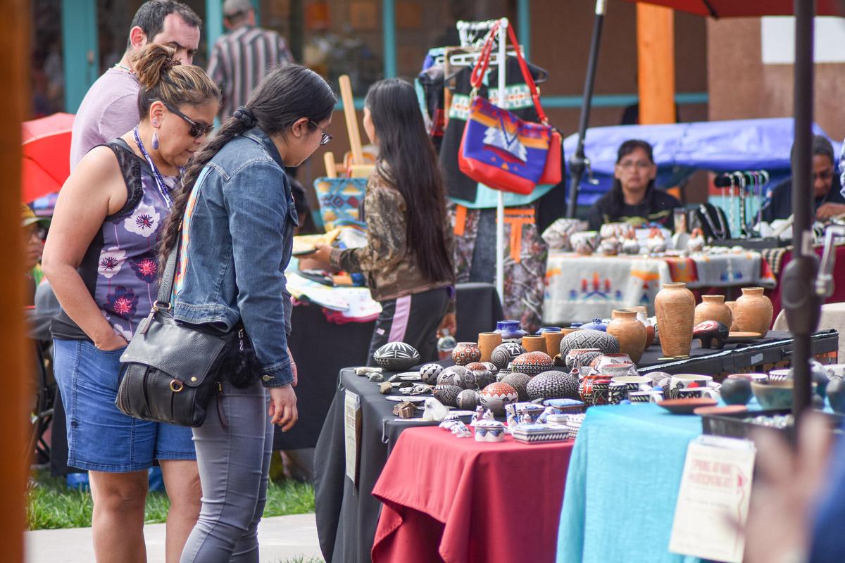 Native American Art Market at IPCC