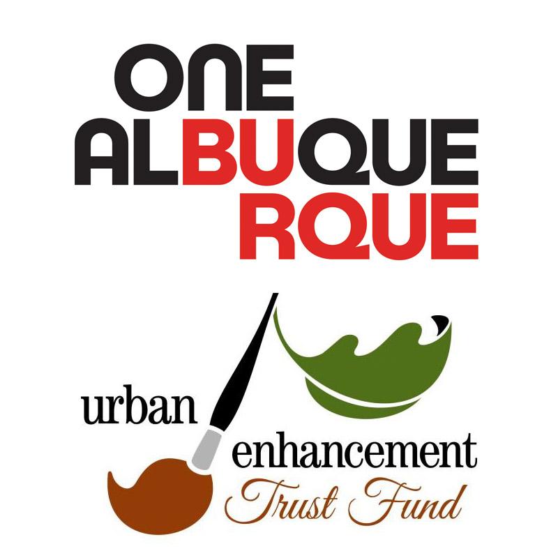 City of Albuquerque and Urban Trust Fund Logos