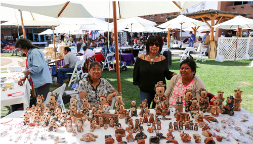 Daily Artists Vendors at the Indian Pueblo Cultural Center