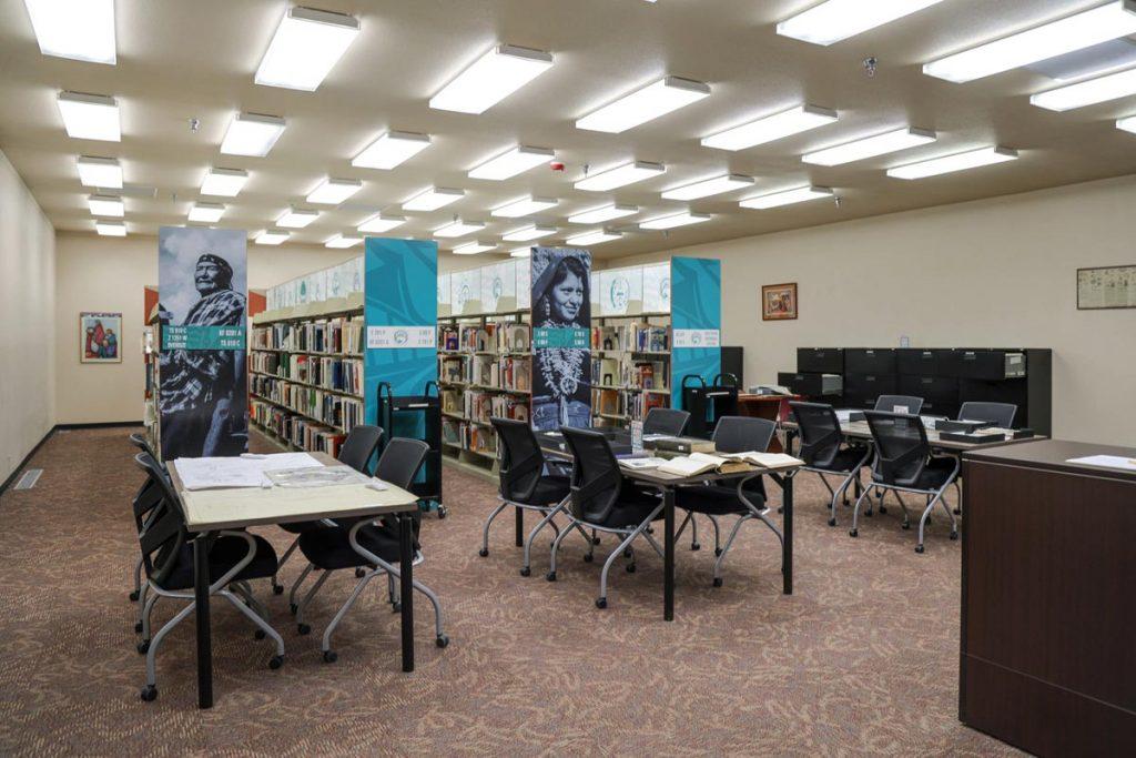 Library at IPCC