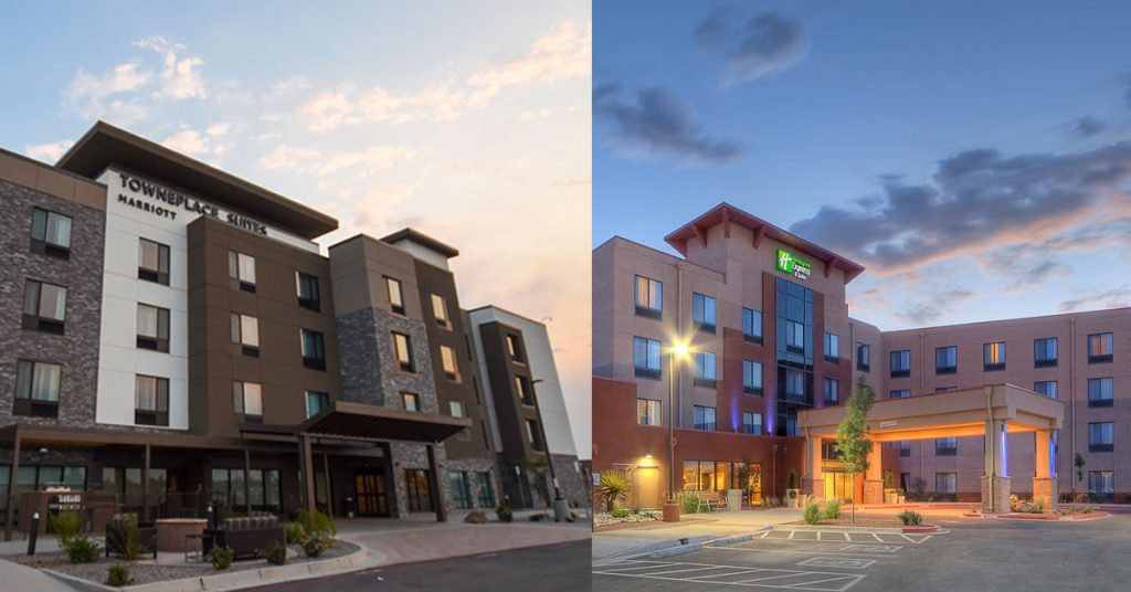 Marriot and Holiday in by IPCC in Albuquerque