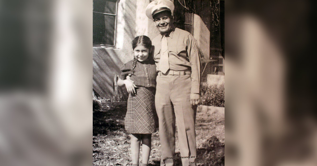Miguel Trujillo and Daughter