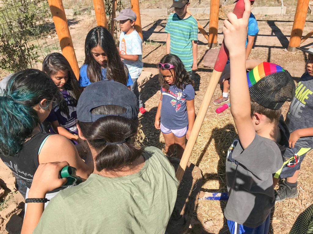 Resilience Garden Summer Camp Activity