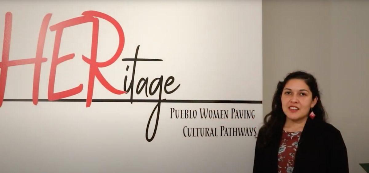 Indian Pueblo Cultural Center Tour Tuesday Video HERitage Exhibit