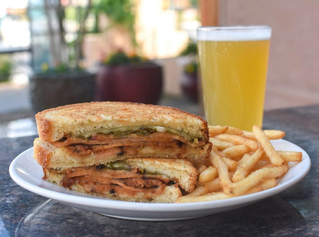 Pueblo Turkey Melt and Draft Beer